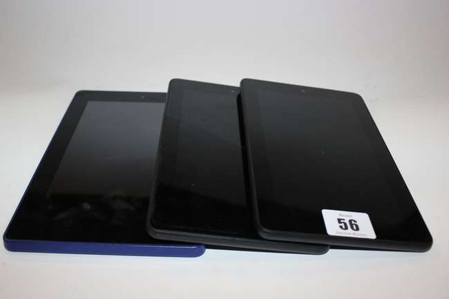 Two Amazon Kindle Fire 5th Generation    | Lot 242 | No cat, 25