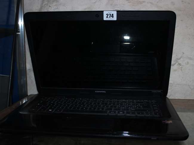 A Hp Compaq Tpn F106 Laptop With Windows Lot 274 No Cat 32