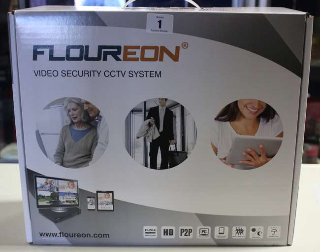 A Floureon video security CCTV system,    | Lot 1 | No cat, 59