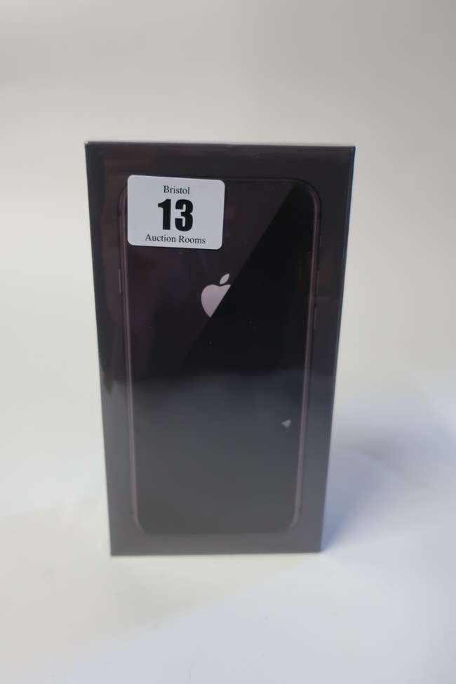 A boxed as new Apple iPhone 8 A1905 64GB in Space Grey (IMEI: 3594980888889889).