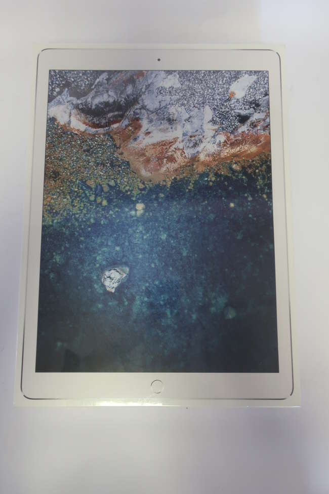 A boxed as new Apple iPad Pro 12.9 (Wi-Fi Only - 2nd Gen) MQDC2J/A  A1670 64GB in Silver (Serial: DLXVG0WQJ263) (Box sealed).