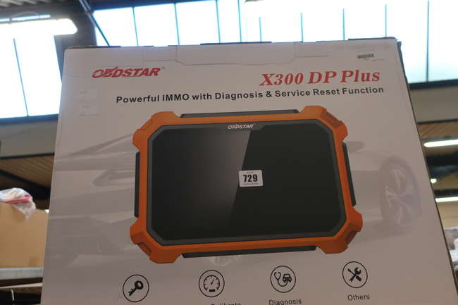 A boxed as new Obdstar X300 DP Plus powerful IMMO with diagnosis and reset function.