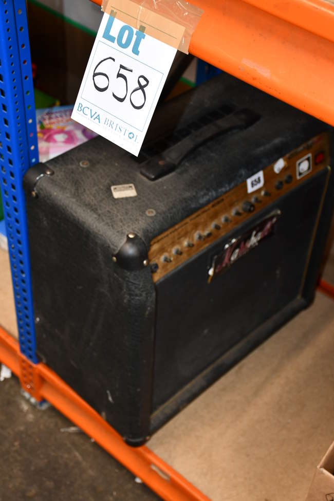 A pre owned Marshall guitar amp