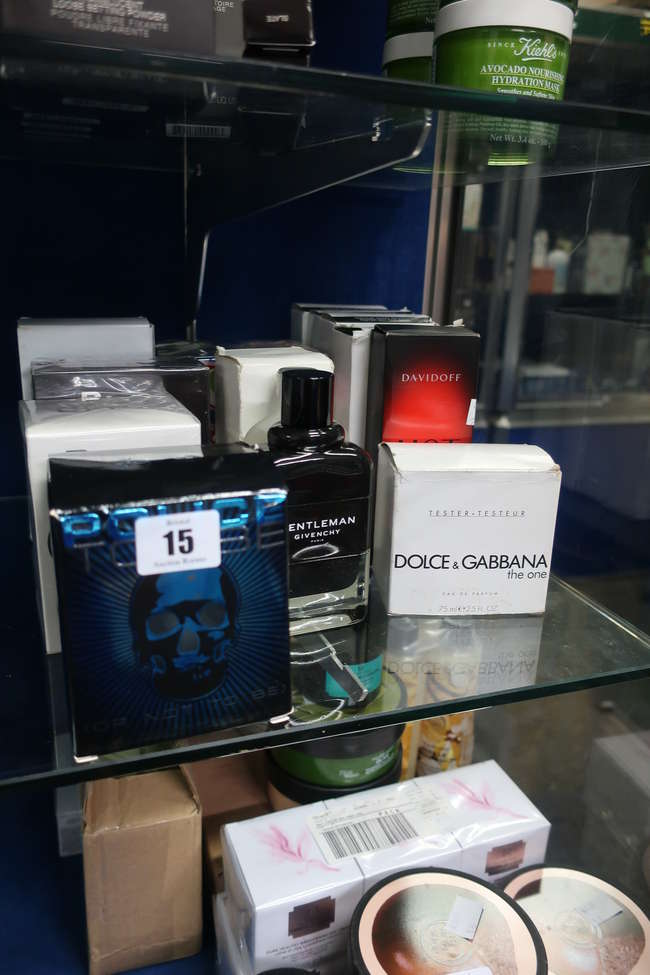 A quantity of as new and pre-owned fragrances to include three Dolce & Gabbana Intense eau de parfum (100ml testers)