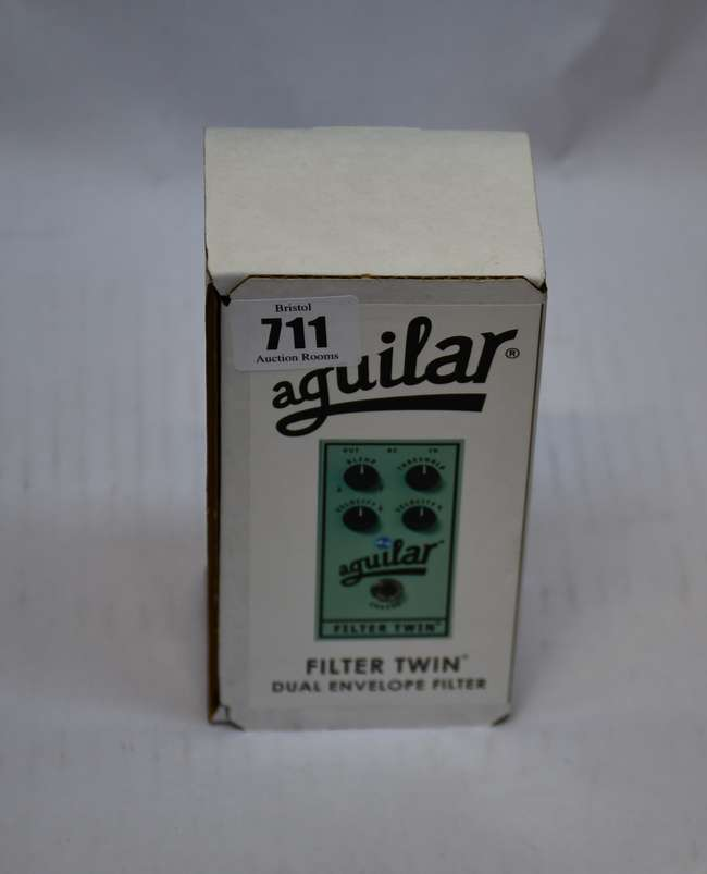 A boxed as new Aguilar Filter Twin duel envelope filter pedal.