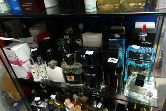 A quantity of part used parfum/eau de toilettes to include Creed