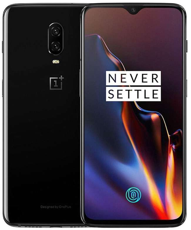 A boxed as new OnePlus 6T A6013 8GB/128GB in mirror black EEA. (Please note supplied with two pin plug. Please check this phone is compatible with your mobile network.)