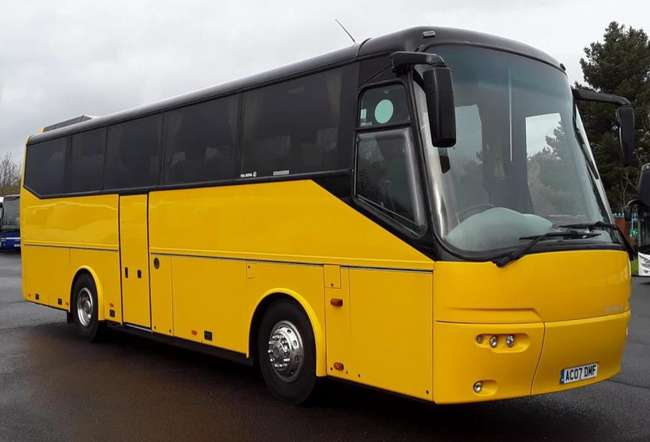 Bova Classic, Registration AC07 DMF. First registered 26-04-2007, Length: 10.6m, Seats: 39, Interior Colour: Blue, Multi, Euro Emissions: 4, Gearbox: Auto, MOT: 17-04-2020, Mileage (kms): 545000.