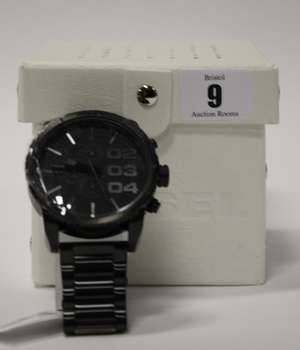 A men's Diesel double down 51 chronograph watch DZ4207 (Boxed as new).