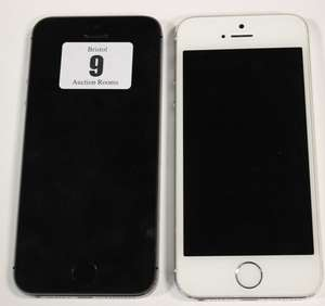 Two iPhone 5S A1457 imei: 358688053859542 and 352047067801808 (Both activation locked).