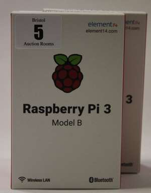 Four Raspberry Pi 3 Model B