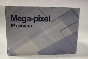Three security Mega-Pixel IP cameras