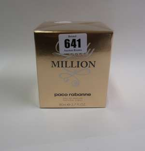 Four Paco Rabanne Lady Million eau de parfum (80ml).