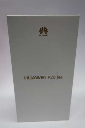 A boxed as new Huawei P20...