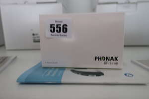 A boxed as new Phonak...
