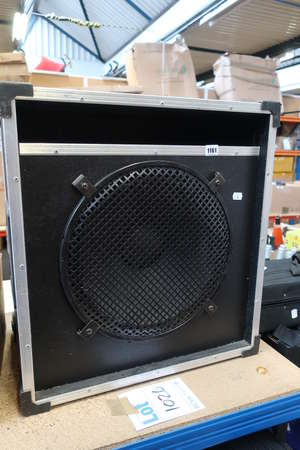 A Bass speaker with a...