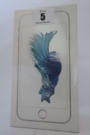 An as new iPhone 6s silver 16GB, IMEI: 353310076825948