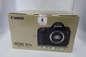 A boxed as new Canon EOS 5DS DSLR Camera (Body Only).