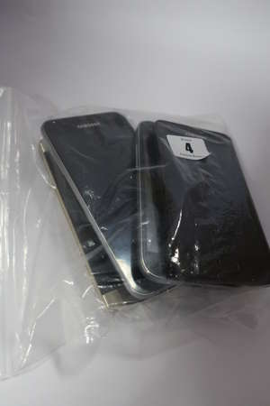 A Samsung Galaxy S6 Edge SM-G925F 32GB (IMEI: 353621070894445) (Damaged screen glass)
