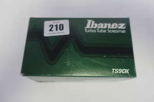A boxed as new Ibanez...