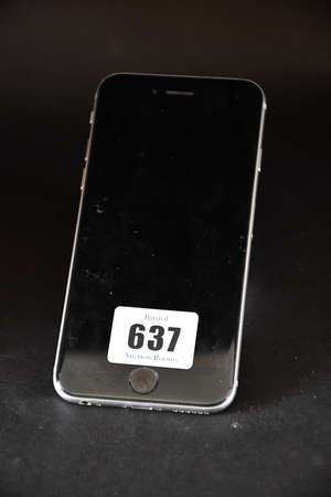 A pre-owned Apple iPhone...