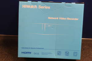 A boxed as new Hikvision Hiwatch NVR-216M-A/16P Network Video Recorder.