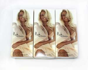 Three Nude By Rihanna eau de parfum spray (3x100ml),