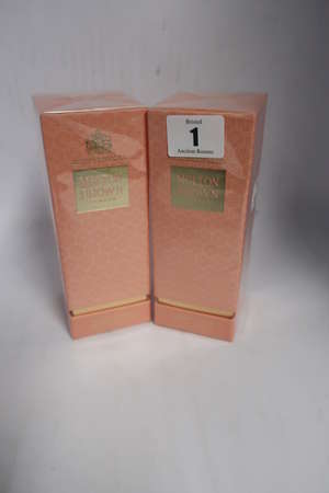 Two Molton Brown Jasmine & Sun Rose eau de toilette (100ml).