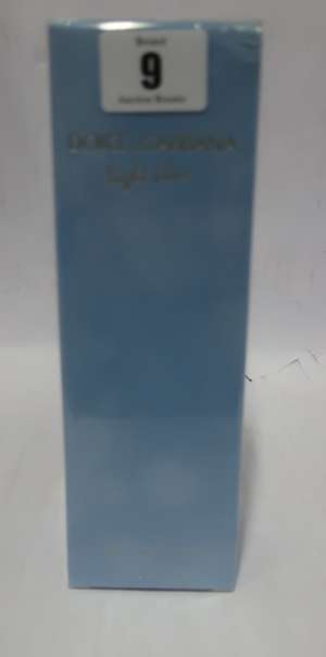 Six Dolce & Gabbana Light Blue refreshing body creams (6 x 200ml).