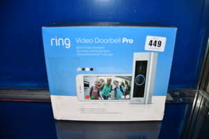 A boxed as new Ring Video...