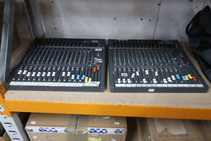 A SoundCraft Spirit SX...