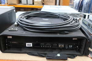 A pre-owned Kenwood NXR-700 NEXEDGE digital and analogue base station repeater in protective carry case (Serial: B6200035).
