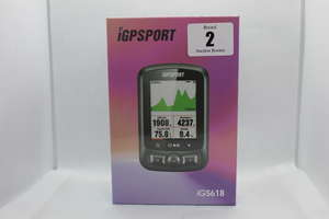 A boxed as new IGPSORT IGS618 GPS Cycling Computer (Box sealed)