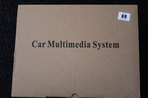 A boxed as new car multimedia...