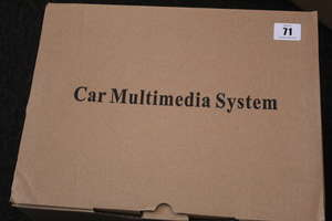 A boxed as new car multimedia system (7510X)