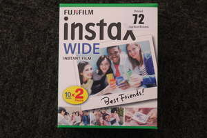 Eight as new boxes Fujifilm Instax wide instant film.