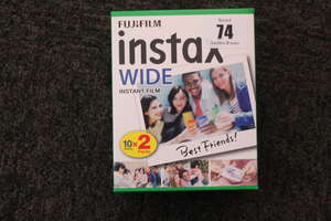 Nine as new boxes Fujifilm Instax wide instant film