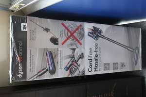 A boxed as new Dyson V8 animal cordless vacuum (Boxed sealed).
