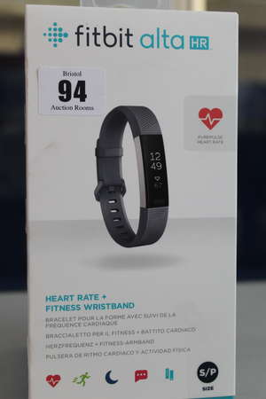 A boxed as new Fitbit...