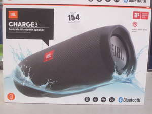 A boxed as new JBL Charge3...