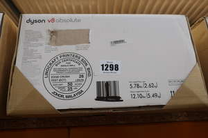 A boxed as new Dyson...