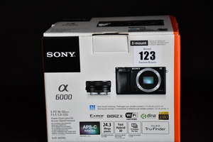 A boxed as new Sony a6000...