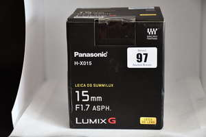 A boxed as new Panasonic...