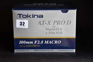 A boxed as new Tokina...