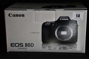 A boxed as new Canon...