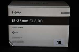 A boxed as new Sigma...