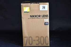 A boxed as new Nikon AF-P...