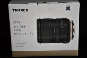 A boxed as new Tamron SP...