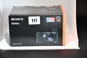 A boxed as new Sony Cyber-Shot...