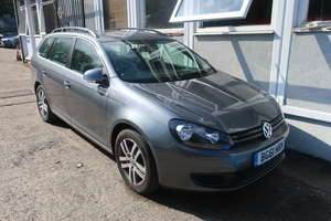 A 2011 Volkswagen Golf SE TDI five door estate, registration number BG61 HRN, 1598cc, diesel, manual, no former keepers, MOT expired 21 September 2018, mileage reading 16,235 (Not Warranted), V5 document available (Deceased Estate).